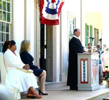 Welcoming new American Citizens at GCVM