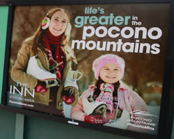 14/15 Platform Poster - Pocono Manor - Small