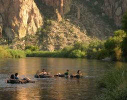 Tubers on the lower Salt River