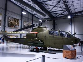 TAH-1P Cobra Gunship at Lone Star Flight Museum