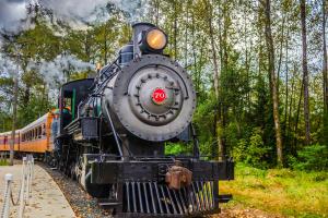 Mount Rainer Scenic Railroad + Museum