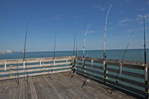 Fishing Surfside Pier