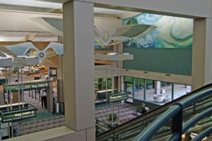 The recent remodel of the lobby is designed to make the Eugene Airport even more efficient