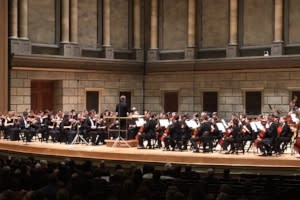 Students from accross NYS perform at Rochester's Eastman Theatre during NYSMMA Conference