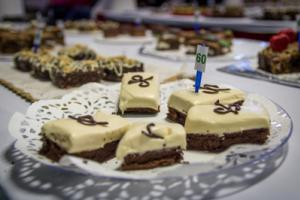 Prized cakes at the Pennsylvania Farm Show in Harrisburg, PA