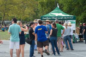 Dogfish Beer Tent