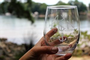 Wine glass merch