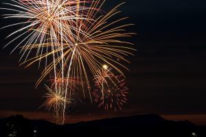 Fireworks Angle Lake