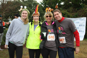 Wrightsville Beach Turkey Trot participants