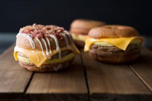Duck Donuts Breakfast Sandwiches