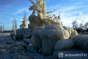 Ice in Whiting - jerrysmith2732 on Instagram