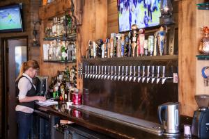 Miners Saloon Beer Taps