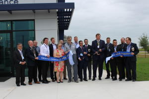 Canadian General Tower (CGT) ribbon cutting