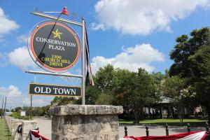 Conservation Plaza sign