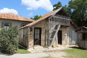 Conservation Plaza old stone house