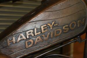 Evel's Harley-Davidson