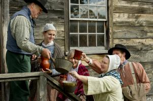 prepare for the holidays at Genesee country Village & Museum