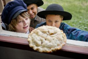 boys and pie at GCVM