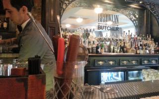 Brooklyn and the Butcher bar