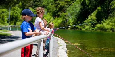 Fishing and Wildlife - Kids Fishing