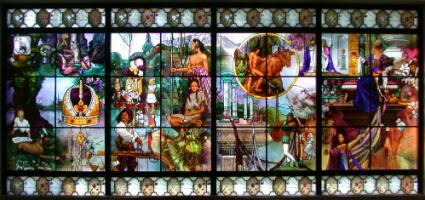 Orem Library Window
