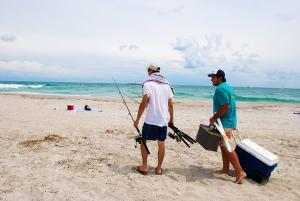 Fishing at Wrightsville Beach
