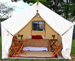 Glamping at Watkins Glen International
