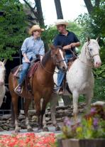 Adults and teens aged 16 and older join the Hudson Highlands Nature Museum for a Horseback Trail Ride at the Rocking Horse Ranch on Sunday, April 21 from 2:30 p.m. - 5:30 p.m. Contributed photo.