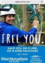 2016 Spring/Summer Co/Op - Online Mobile - RadarOnline - Blue Mountain Resort