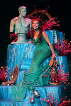 "Jessica Grové as Ariel in the Music Circus production of ""The Little Mermaid"" at the Wells Fargo Pavilion July 10-22. Photo by Charr Crail."