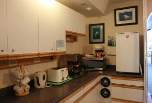 Tundra Inn Guest-Use Kitchen