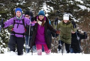 Snowshoeing in RMNP