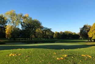 Fairway in Fall