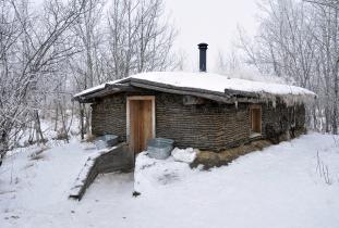 Sod house