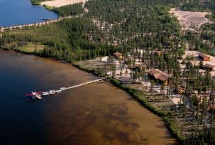 Gangler's North Seal River Lodge Camp