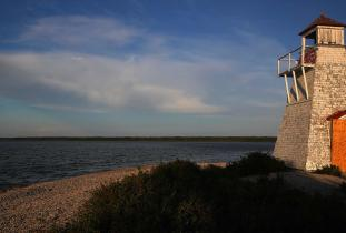 Lighthouse at Hecla-Grindstone Provincial Park