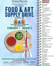Bethel Woods Food & Art Supply Drive