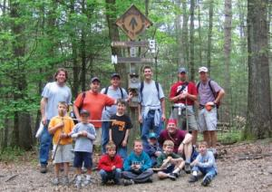 Hikers at Appalachian Trail