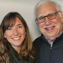 Dr. Scott Cowen and Johanna Gilligan