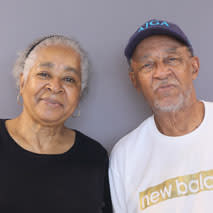 Dodie Smith-Simmons and Claude Reese