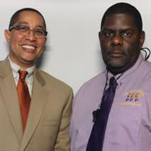 Kenneth St. Charles and Eddie Williams