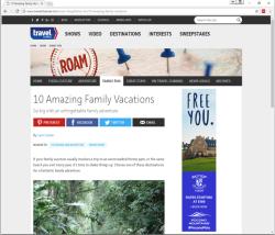 2017 Summer Marketing Campaign -  Online - TravelChannel.com - Skytop Lodge