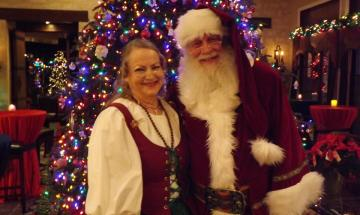 Enjoy time with Santa and Mrs. Claus