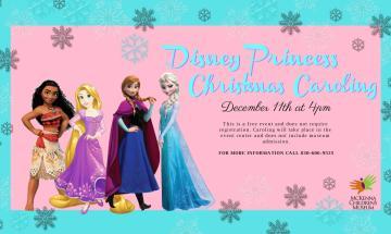 Disney Princess Christmas Caroling