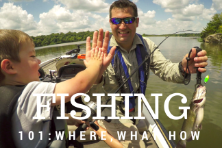 Fishing 101: Where, What, How