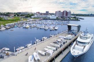 Port City Marina Aerial