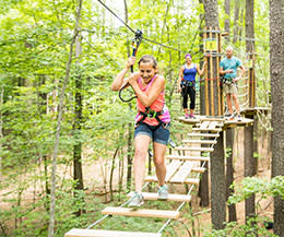 Go Ape outdoor adventures