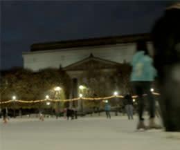 Sculpture Garden Ice Skating