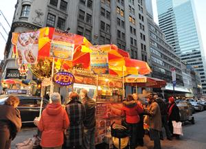 Street Vendors - Photo by Julienne Schaer