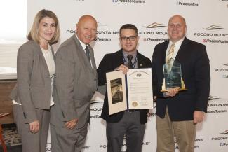 Eric Lansberry, Gail V. Sterrett Marketing Award Winner